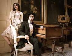 Sean Lennon & Charlotte Kemp Muhl... what my grown-up children would look like LOL