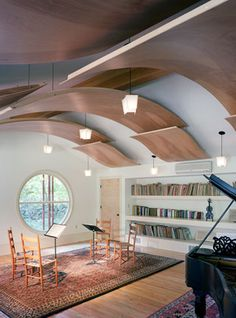 Centerbrook Architects and Planners: OH. MY. word. I need this room.