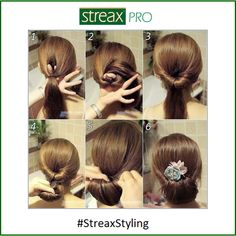 #StreaxStyling With the Dandiya season around the corner, we recommend the #bun #hairstyle that goes perfect with your traditional attire.