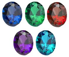 """Round Crystal Set Vectors done in via Illustrator. Created it as practice using tools in the software. It's also a """"Free to Use but Credit Back"""" Resource Diamond Gemstone, Vector Art, Vectors, Illustrator, Software, Diamonds, Tools, Gemstones, Crystals"""