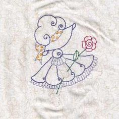"This free embroidery design is a ""Swirly Spring Bonnet""."
