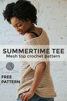 Simpele Gehaakte Top - Simple Top Crochetpattern