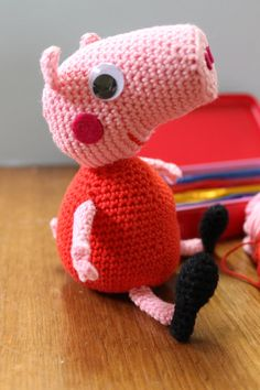 SO LOVELY !!!!!! Peppa Pig Amigurumi Toy by TinaMade4You on Etsy