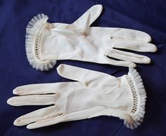 Vintage Wrist Length Women's Dress Gloves by ilovevintagestuff