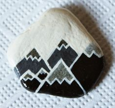 Image result for what paint shaped rock triangle how to easy