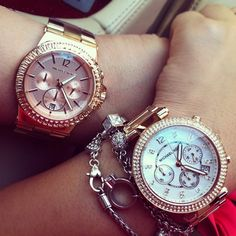Michael Kors watchs I love the one in the left
