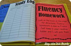 Step into 2nd Grade with Mrs. Lemons: Fluency Folders