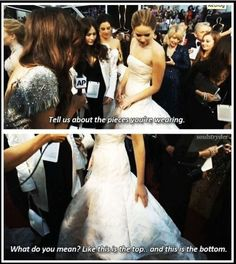 Jennifer Lawrence funny interview - Funny Pictures - Funny Photos - Funny Images - Funny Pics