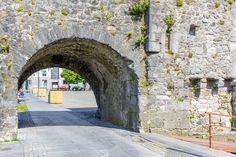 A local's guide to ten of Galway's best-kept secrets - The Spanish Arch in Claddagh neighborhood of Galway, Ireland. Backpacking Ireland, Ireland Travel Guide, Dublin Travel, Asia Travel, Irish Tourism, Dublin Ireland, Cork Ireland, Ireland Weather, Ireland Hotels