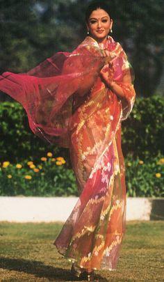 Aiswarya Rai in Ritu Kumar Benarasi Silk Sari