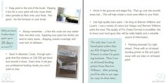 instructions on painting furniture with Annie's Chalk Paint from Perfectly Imperfect