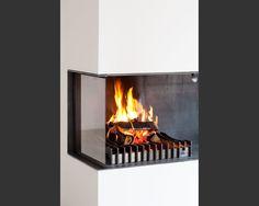 fast bodenb ndige 1 5 seitig offene feuerstelle aus schamotte der rahmen ist handwerklich aus. Black Bedroom Furniture Sets. Home Design Ideas