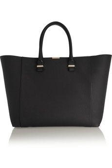 Victoria Beckham Liberty leather tote | NET-A-PORTER