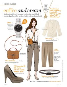 Various Layouts I Worked On For Lucky Magazine People Style Watch, Lucky Magazine, Layout Inspiration, Peasant Tops, Get The Look, Editorial Fashion, Fashion Editorials, Layouts, How To Wear