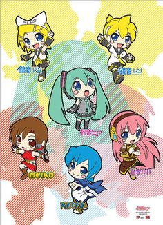 Vocaloid Six (I like Vocaloid Eight better tbh because it includes Gakupo and Gumi)