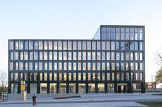 Verlagsgebäude in Regensburg von Steidle Architekten / Block am Gleis - Architektur und Architekten - News / Meldungen / Nachrichten - BauNetz.de