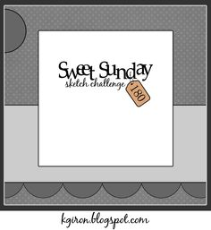 the sweetest thing...: Sweet Sunday Sketch Challenge 180  Sunday, March 17, 2013