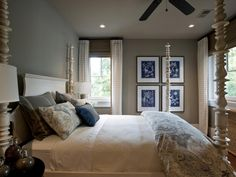 The experts at HGTV.com share the HGTV Dream Home master bedrooms and guest…