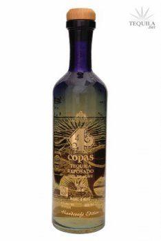 4 Copas Tequila Reposado - Tequila Reviews at TEQUILA.net