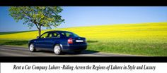 Rent a Car Company Lahore has been rendering topnotch car rental services for all those who wish to travel across the regions of the city and its surroundings.