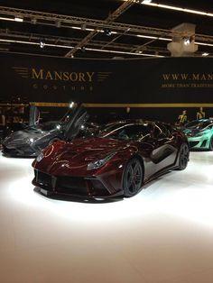 Ferrari F12 by Mansory