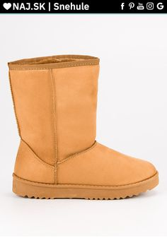 Klasické snehule hnedé CnB Moon Boots, Ugg Boots, Crocs, Uggs, Adidas, Nike, Fashion, Moda, Fashion Styles