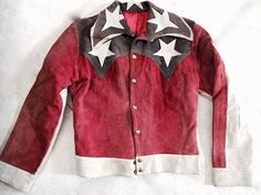 EARLY 70'S VINTAGE SUEDE LIBERY JACKET - DEAD ✻