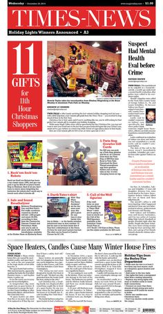 Dec. 24, 2014. 11 Last-minute Gifts for the 11th Hour Shopper