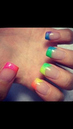 In love!! Rainbow! Amazing colour!