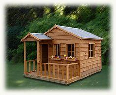cubby house -
