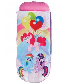 This My Little Pony Junior Ready Bed Sleepover Solution includes an inflatable mattress, pillow and removable cover. Free UK delivery available
