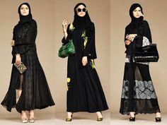 """God Save the Queen and all: Dolce & Gabbana """"Abaya Collection"""" #dolcegabbana #abaya #hijab #woman"""