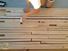 Addicted 2 DIY... How to make a butcher block counter