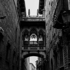 Barcelona, the Gothic Quarter