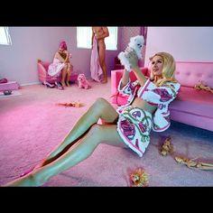 """I'm a Barbie Girl in a Barbie World "" Photo taken by @parishilton on Instagram, pinned via the InstaPin iOS App! http://www.instapinapp.com (04/06/2015)"