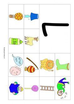 Werkbladen - taal - letters leren ~ Juf Milou Free Preschool, Preschool Worksheets, Letter School, Letter L, School Posters, All Schools, Lana, Alphabet, Teaching