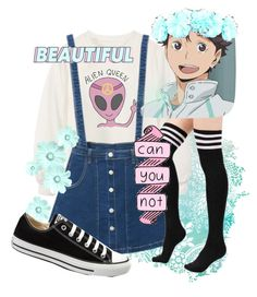 """""""Oikawa"""" by terriblefeels on Polyvore featuring Chicnova Fashion, Converse, Aoba, women's clothing, women, female, woman, misses and juniors"""