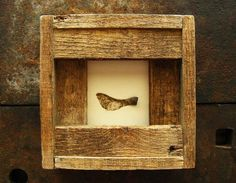 Passage--- Seedpod in Reclaimed Wood Frame Barn Wood Crafts, Barn Wood Projects, Furniture Projects, Reclaimed Wood Frames, Wooden Frames, Pallet Crates, Pallets, Framing Photography, Art Series