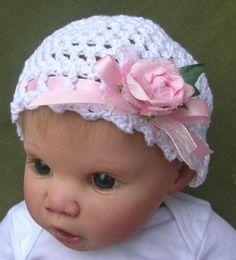 Crochet Spiral Mesh Baby Hat Free Pattern – Doll Babies Reborn Nursery    followpics.co