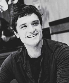 Josh Hutcherson You've got a smile that can light up this whole WORLD