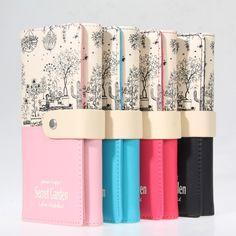 Merek Fashion Wanita Dompet Kulit PU Pemegang Kartu Pengait Dompet Panjang Wanita Dompet tas Clutch Telepon Pocket Dompet Dompet Carteira