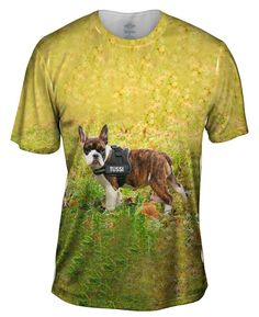 Tussi French Bulldog all-over printed Mens T-Shirt by Yizzam. Make your style shine! French Bulldog Facts, Fun Facts, Your Style, Cool Stuff, Mens Tops, T Shirt, How To Wear, Products, Fashion
