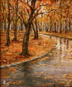 Central Park Fine Art America Original Artwork Rain Fine Art Rain