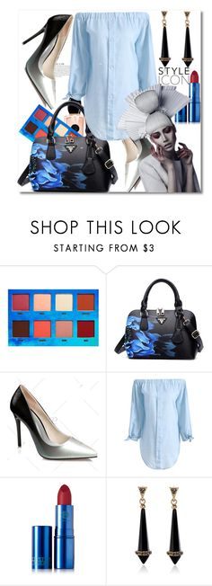 """""""Tunic Dress"""" by azra-v ❤ liked on Polyvore featuring Lime Crime, KAROLINA, Lipstick Queen, vintage and rosegal"""