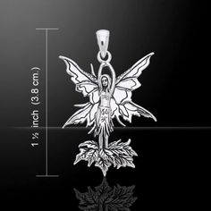 Fairy-925-Sterling-Silver-Pendant-by-Peter-Stone