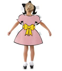 paper doll costume - Chasing Fireflies