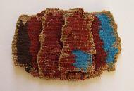 "Joanne Soroka ""Fragment No. 1"" tapestry weaving"