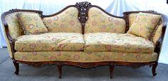 Antique Hand Carved Sofa