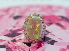 Absolute perfection 💖#opal #opalicious  #dropdeadgorgeous  #ericacourtney #showmeyourrings #jewelrystateofmind  #lovegold #luxury #luxurybyjck #jewelry #jewelrydesign #jewels #diamond #diamonds #custom #love #stunning #beautiful #color #finejewelry #highendjewels #ringoftheday #dreamring #losangeles #gemstones #blingbling #wow #diamondjewelry #instajewels