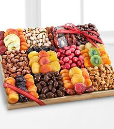 Flowers Online - FTD.com | Send Flowers, Plants & Gifts | Same Day Flower Delivery Gourmet Gifts, Gourmet Recipes, Dog Food Recipes, Dried Pears, Dried Fruit, Fruit Gifts, Food Gifts, Fruit Snacks, Fruit Sec